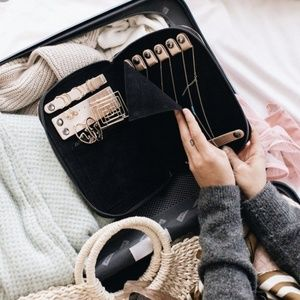 Halston Jewelry Holder Portfolio for Travel
